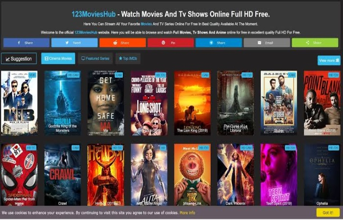 Image result for 123MoviesHub