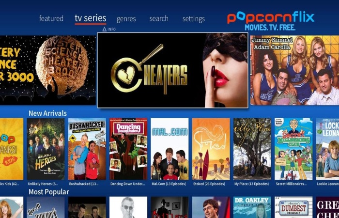 The image result for PopCornFlix - YesMovies