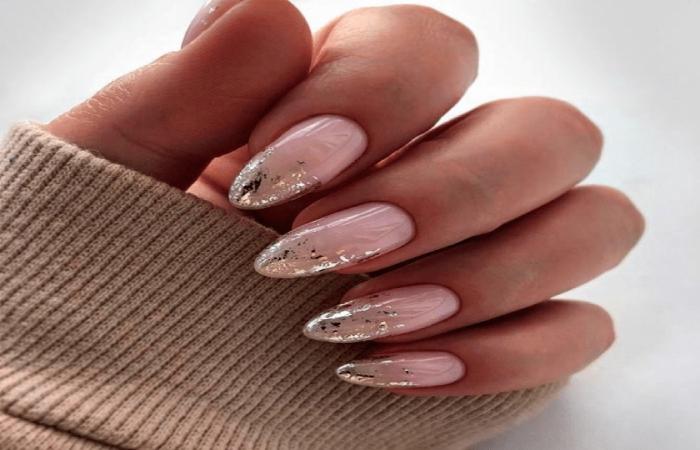 image result for rose pink office nails