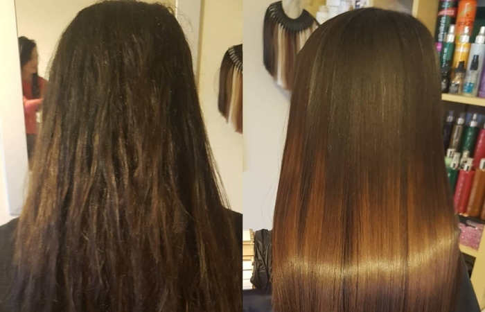 image result for keratin hair treatment