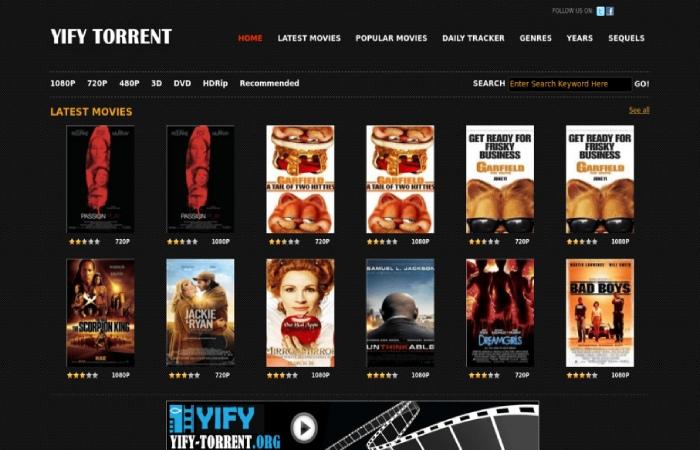 image result for yify torrent - torrentking