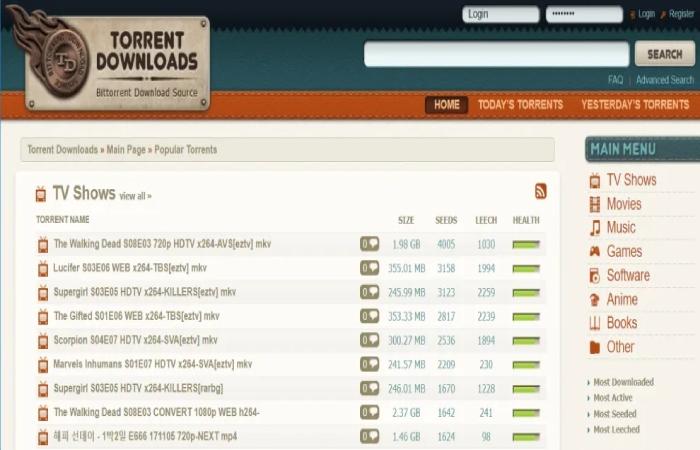 image result for torrentdownloads