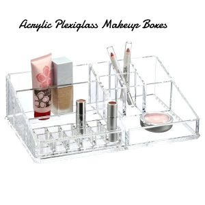 Acrylic Plexiglass makeup box