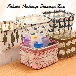 Fabric Makeup box