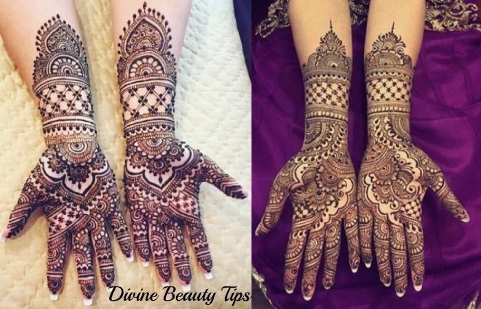 arabic mehandi designs for bride