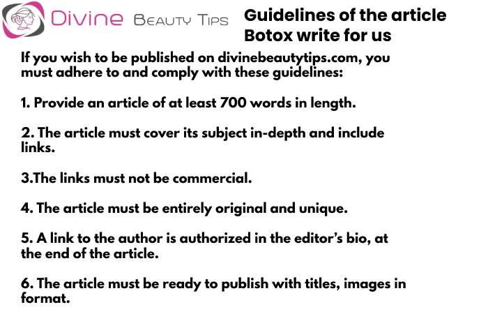 Botox Guidelines