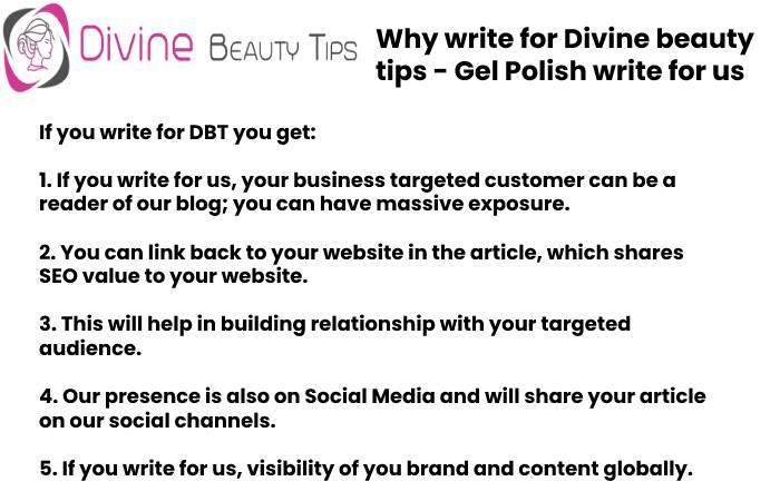 gel polish Why write for DBT (2)