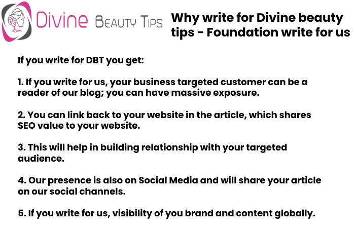 foundation why write for us
