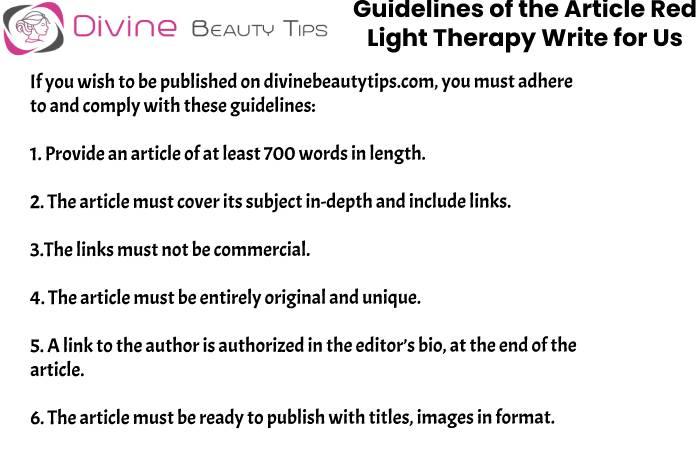 guidelines red light tharepy write for us (6)