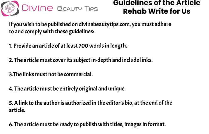 guidelines Rehab write for us (7)