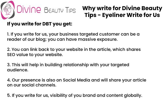 why write for dbt1 eyeliner