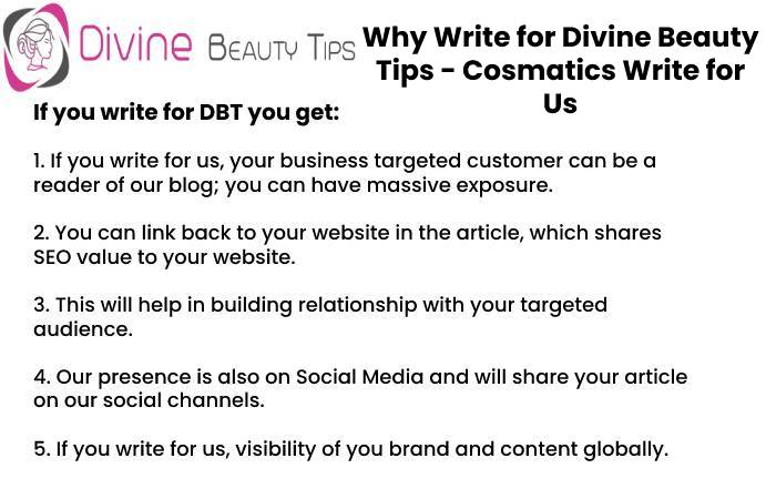 cosmetics why write for us