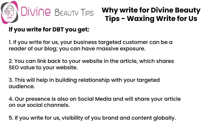 why write for dbt - waxing write for us