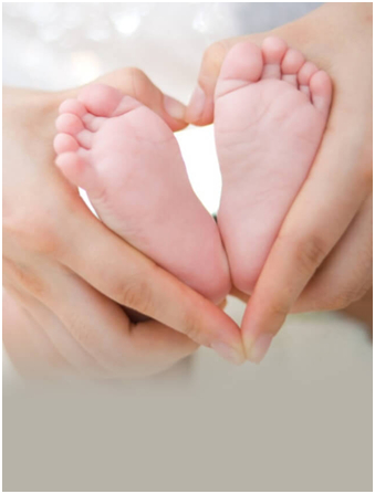 baby legs - IVF